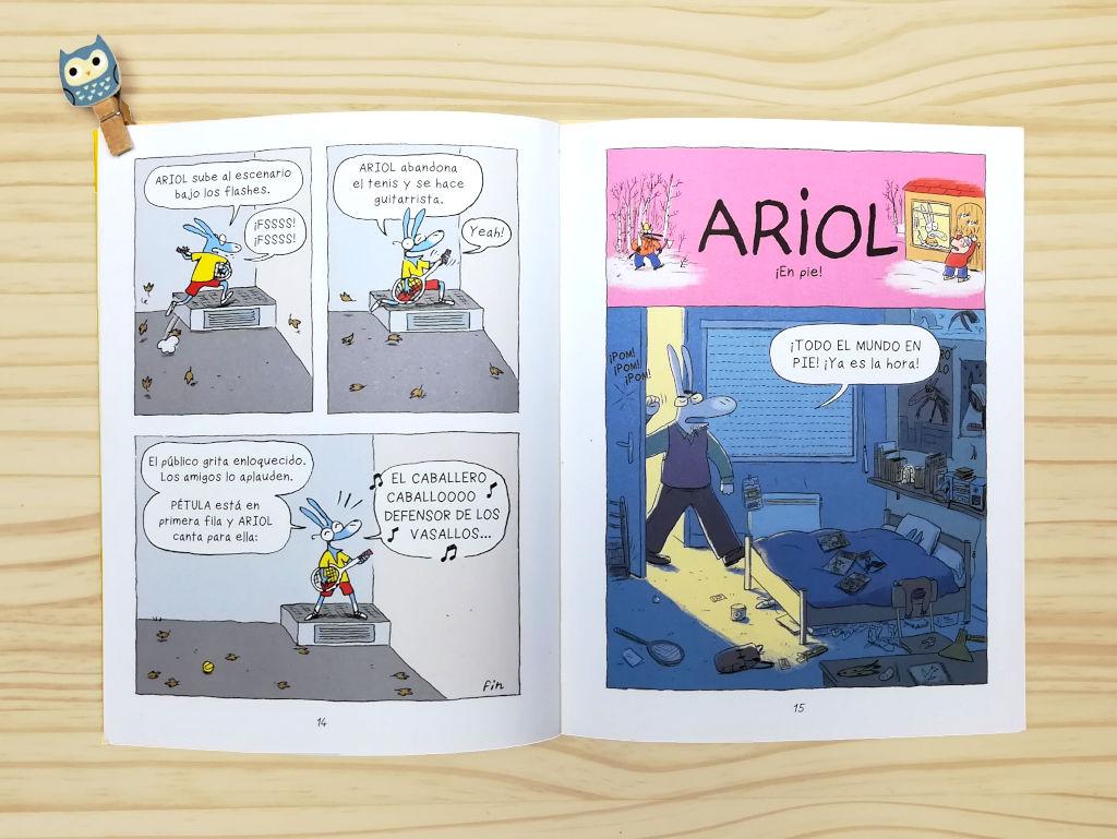 Ariol comic 1 interior