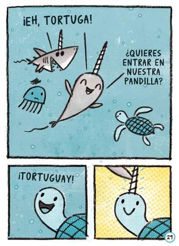 narval-unicornio-marino-amigos-pandilla