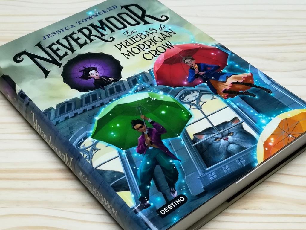 Nevermoor Las pruebas de Morrigan Crow