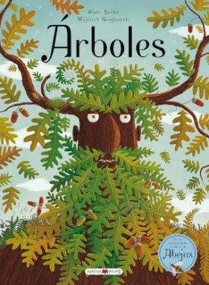 Arboles editado por Maeva ilustrado por Piotr Socha