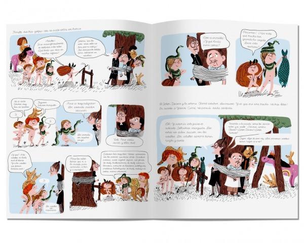 La tribu que apesta litera libros reunión niños
