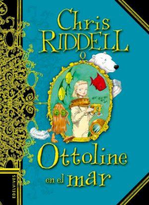 Portada Ottoline en el mar escrito por Chris Riddell