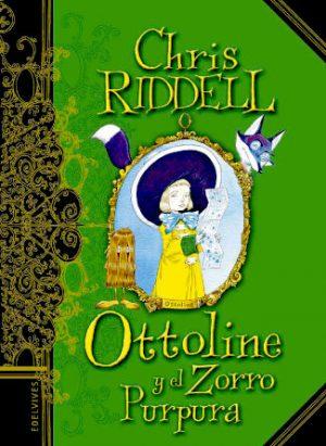 Portada del libro Ottoline y el zorro púrpua escrito por Chris Riddell