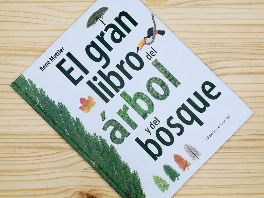 """Presentación de la portada del libro """"El gran libro del árbol y del bosque"""", de Editorial juventud"""