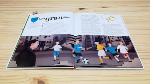 Pasic futbolista. Libro lo mejor del futbol. a fin de cuentos editorial