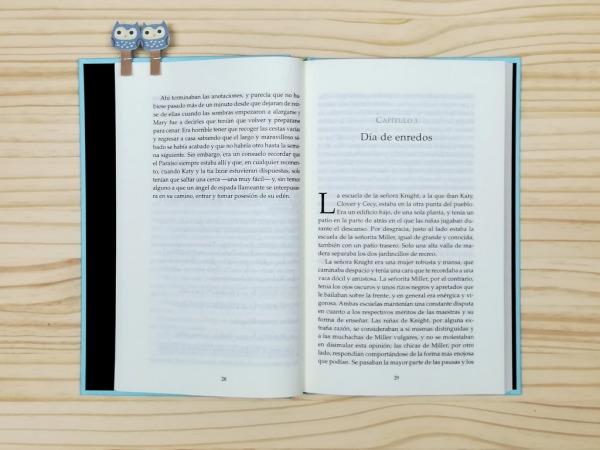 """Páginas interiores del libro """"Lo que hizo Katy"""", editado por Siruela"""