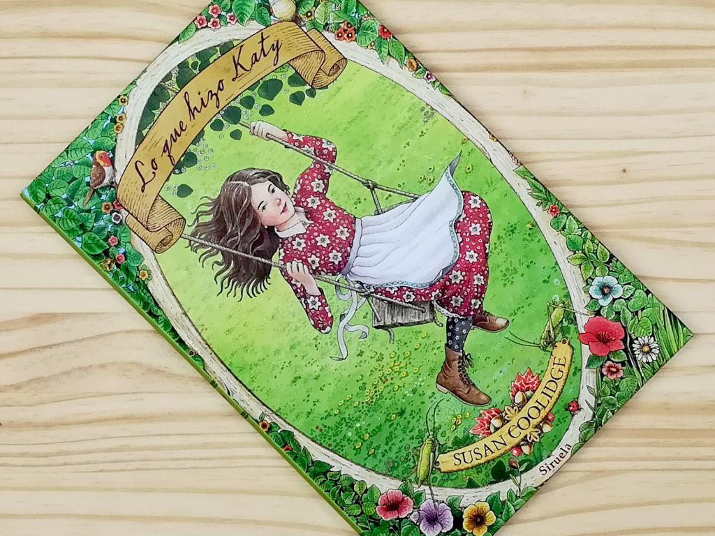 """Portada del libro """"Lo que hizo Katy"""", editado por Siruela"""