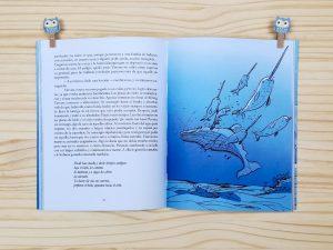 """Páginas interiores del libro """"Varvara"""", de Marka Mikova y Daniel Piqueras, editado por Narval"""