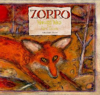 """Portada del libro """"zorro"""" editado por Ekaré"""
