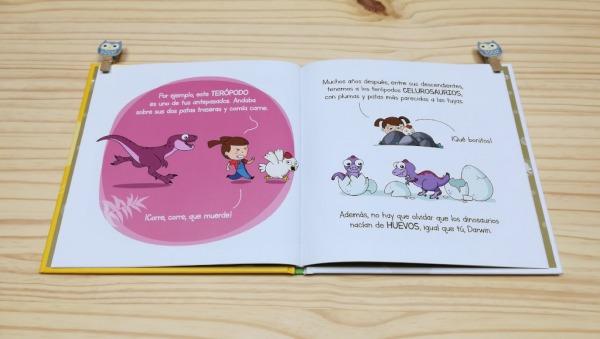 """Páginas interiores 3 del libro """"Evolución"""", de Carlos Pazos"""