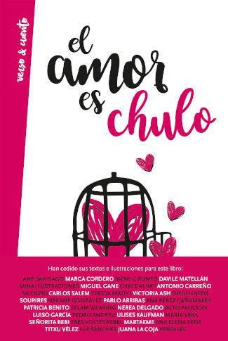 """Portada del libro """"El amor es chulo"""" de Stephanie Andugar, editado por Aguilar"""