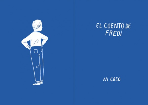 """Páginas interiores 2 del libro """"La importancia del primer cero"""", de Oti Rodríguez, editado por A buen paso"""