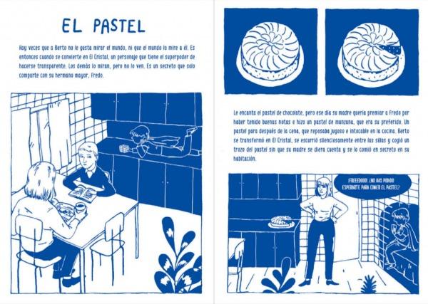 """Páginas interiores 6 del libro """"La importancia del primer cero"""", de Oti Rodríguez, editado por A buen paso"""