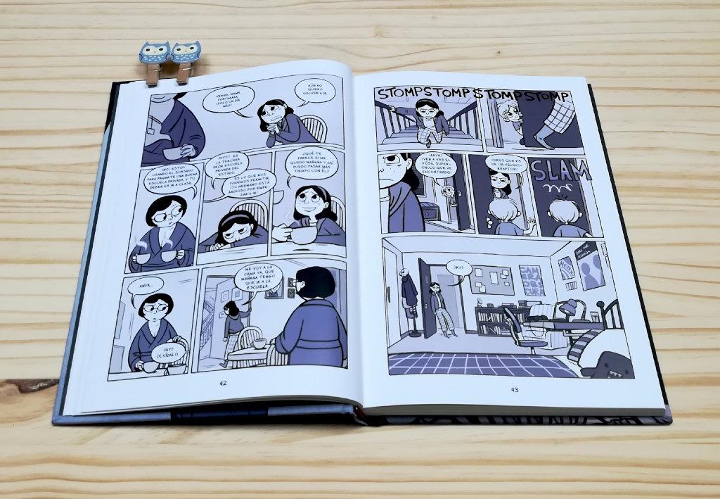 fantasma-anya-familia-cómic-astronave