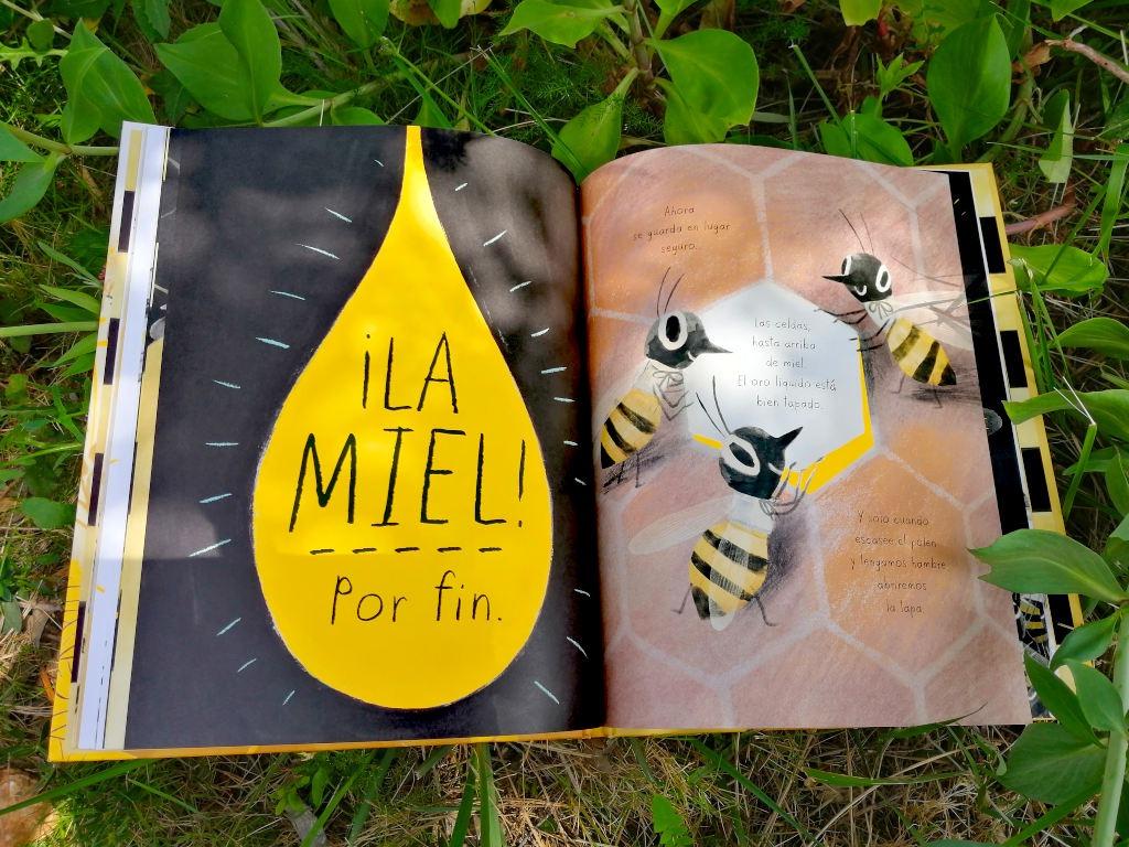 Mi-vida-de-abeja-miel-zorro-rojo