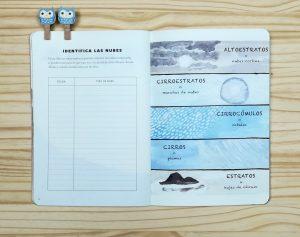uaderno-de-aventuras-meteorología-nubes y clima. Editado por Errata Naturae.