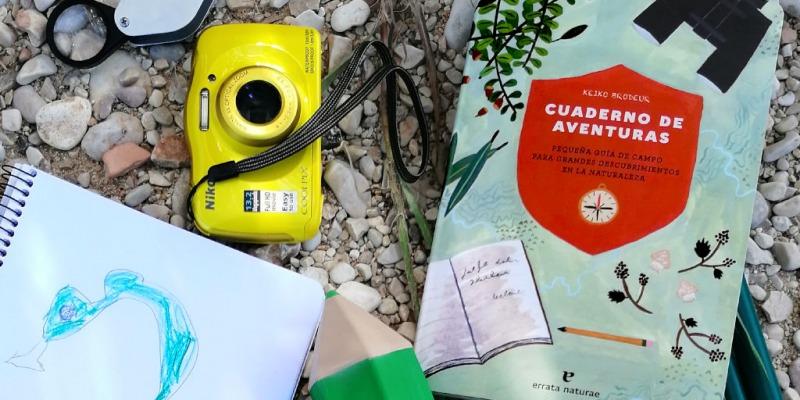 Cuaderno de aventuras. editado por errata naturae. Guía de campo.
