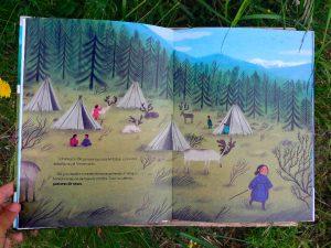 el-viaje-de-od poblado dukha escrito por Susanna Isern ilustrado por Ana Sender editorial tierra de Mu