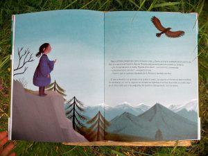 el-viaje-de-od águila de alas doradas escrito por Susanna Isern ilustrado por Ana Sender editorial tierra de Mu