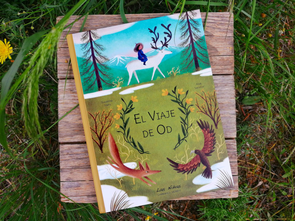 el-viaje-de-od portada escrito por Susanna Isern ilustrado por Ana Sender editorial tierra de Mu