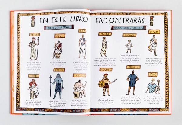La-historia-de-atenea-dioses-escrito por imogen greenberg editado por astronave