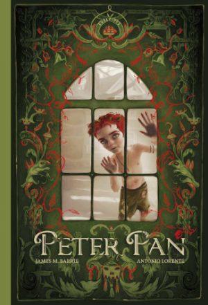 Peter-Pan-escrito por James Barrie e ilustrado por Antonio Lorente editado por edelvives