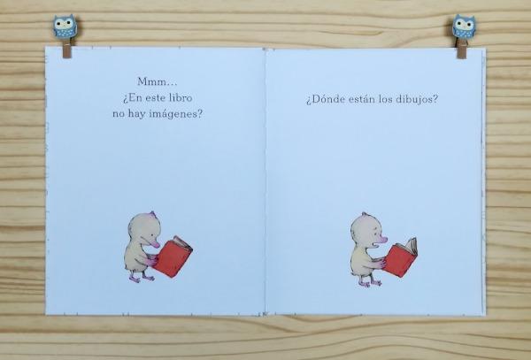 Que libro más tonto. Editado por Liana Editorial y escrito e ilustrado por Sergio Ruzzier