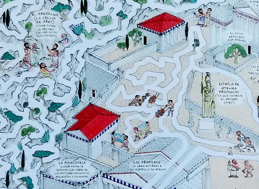El hilo de ariadna editado por maeva young e ilustrado por jan-bajtlik