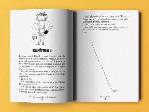 Siete días en un planeta desconocido, escrito por Bruno Puelles y editado por Dilatando Mentes