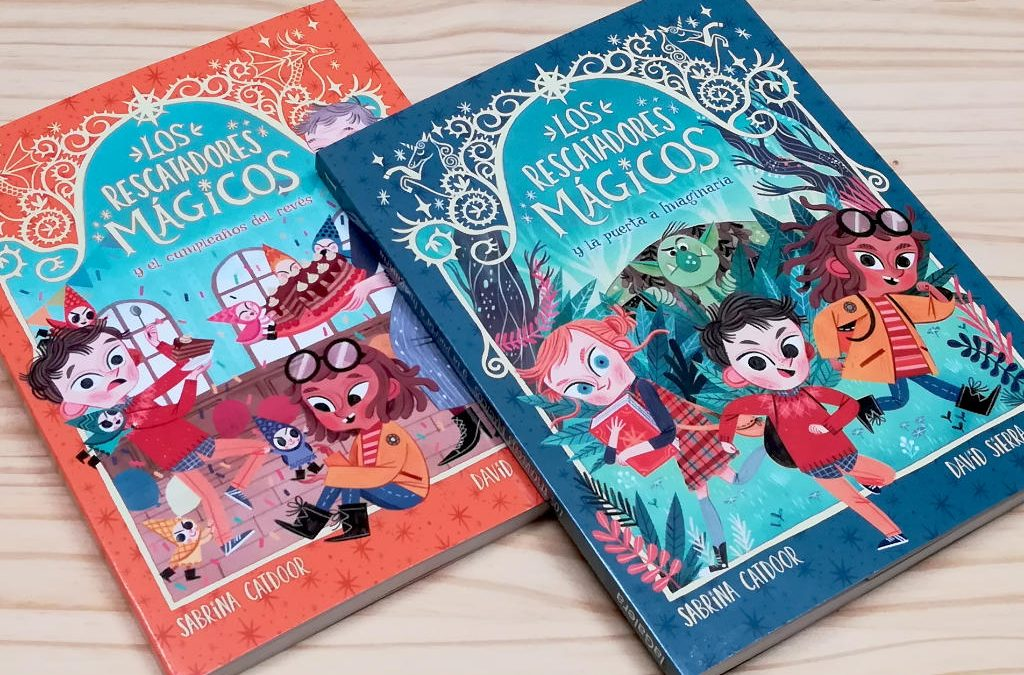 Los rescatadores mágicos. Una serie para primeros lectores