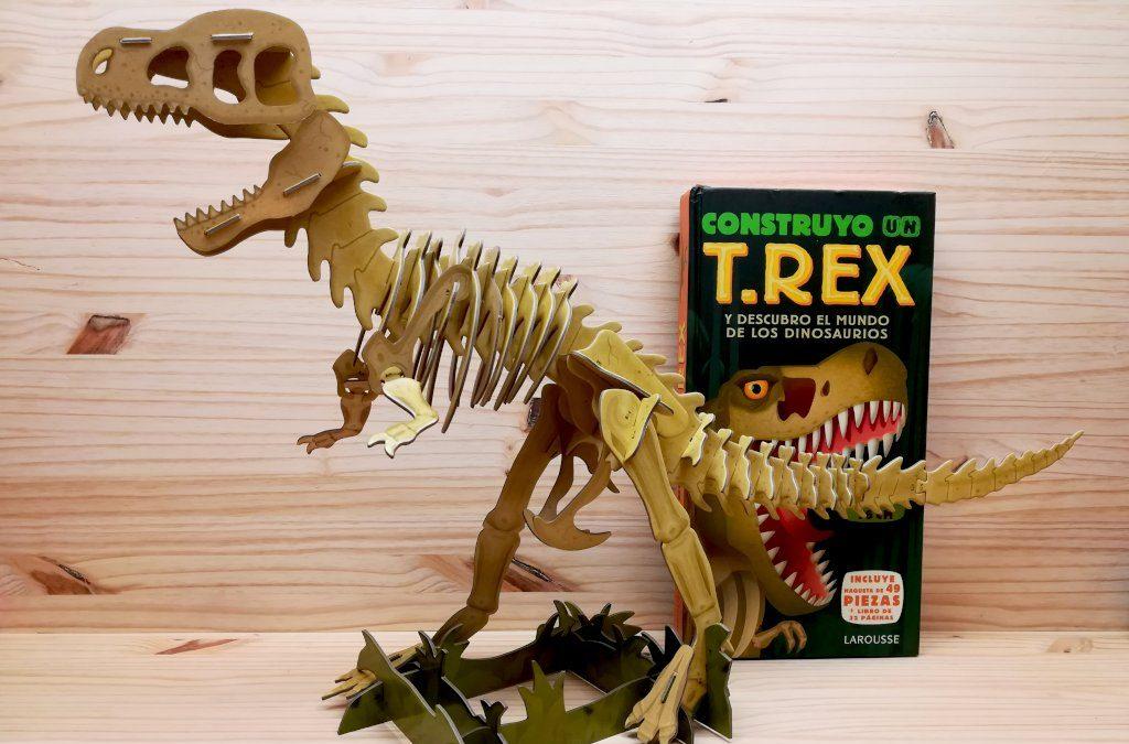 Construyo un T.Rex y descubro el mundo de los dinosaurios