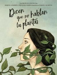 Porta del poemario dicen que no hablan las plantas.