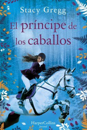 """Portada de la novela """"El príncipe de los caballos"""""""