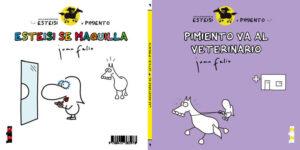 Portada Esteisi y Pimiento número 7 editado por takatuka. autor Juan Feliu