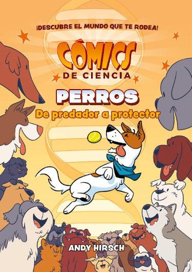 Portada del libro Cómics de Ciencia- Perros