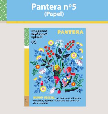 Portada de la revista Pantera 5