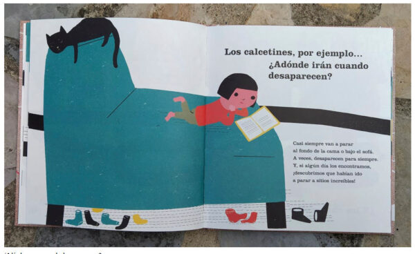 ¿A dónde vamos cuando desaparecemos? Editado por Fulgencio Pimentel. Autoras: Planeta Tangerina