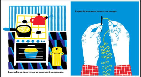 Con el tiempo. Editado por Fulgencio Pimentel. Autoras: Planeta Tangerina.